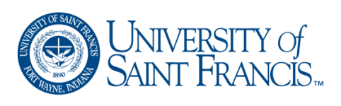 Logo - University of Saint Francis
